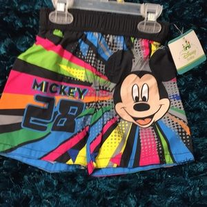 Disney Mickey Mouse swimming trunks